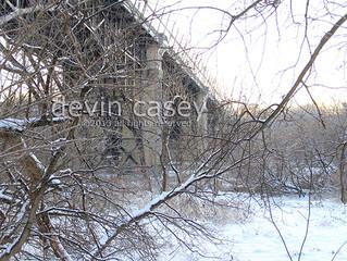 Winter viaduct