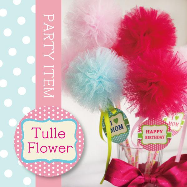 TULLE FLOWER