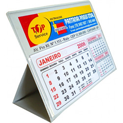 Calendário PVC