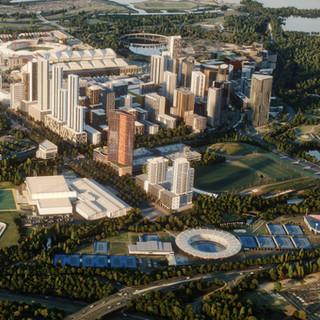 Sydney Olympic Park: Visualised at Buildmedia.