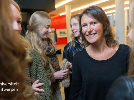 Een boodschap van studietrajectbegeleider Ann Aertssen