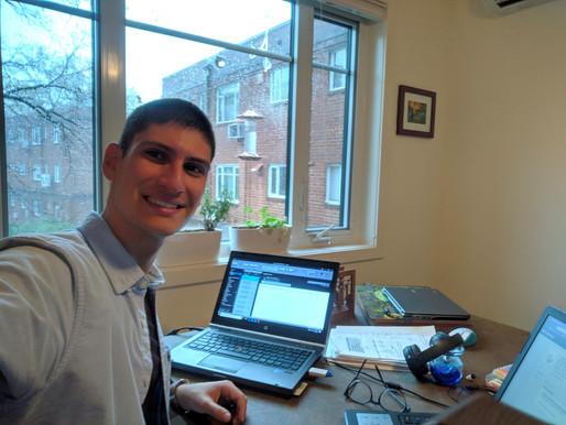 Georgios zijn avontuur in Maryland (USA)