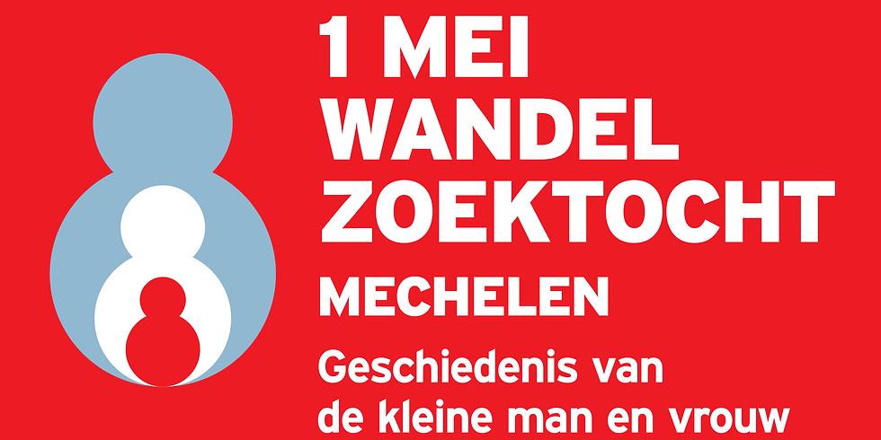 1 mei wandel zoektocht - Mechelen