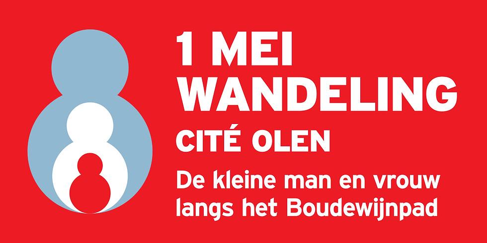 1 mei wandeling - Cité Olen