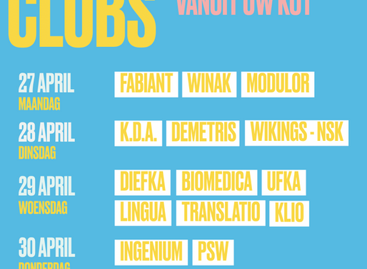 Onze clubs, de nieuwe lichting