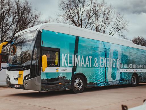 Duurzaam vervoer dat je meeneemt van Nieuwpoort tot Neeroeteren