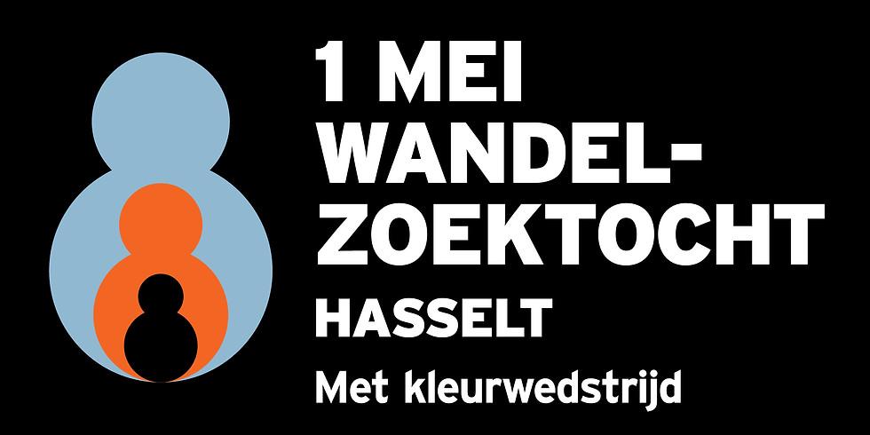 1 Mei wandeling Hasselt