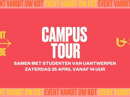 Op Campus Tour met studenten