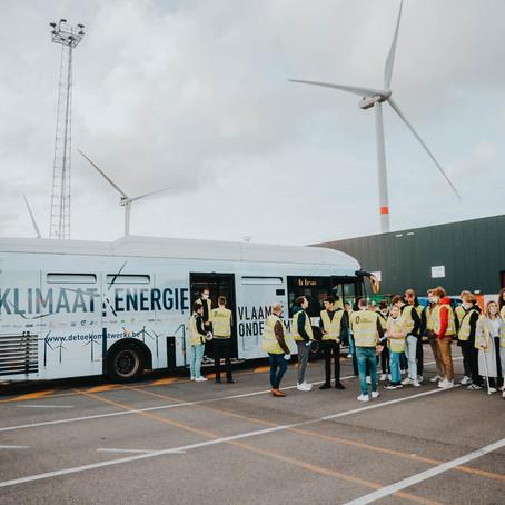 Het grootste industriële onshore windpark van Vlaanderen