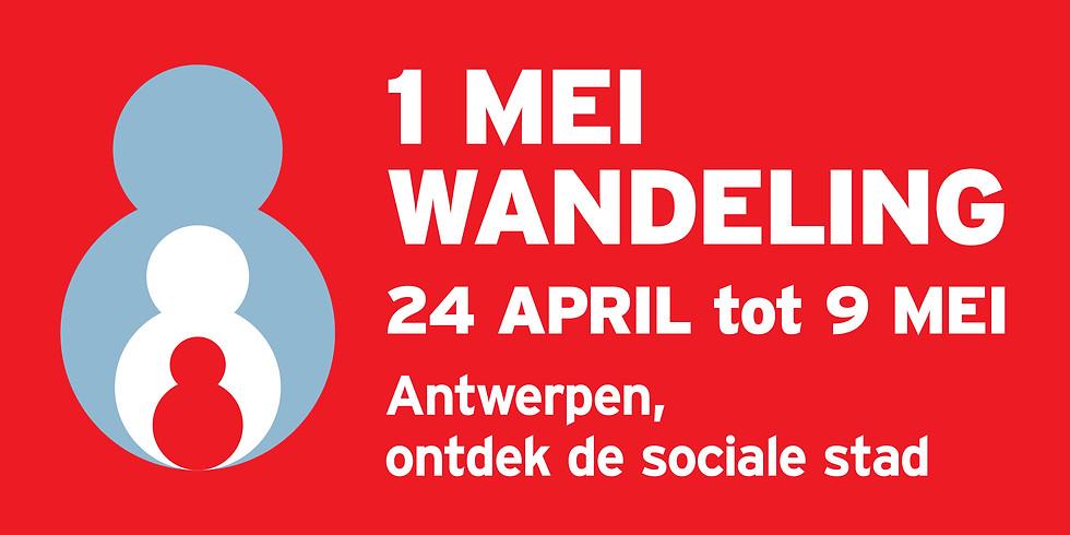 1 mei wandeling 'Antwerpen, ontdek de sociale stad'