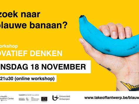 18 november : op zoek naar de blauwe banaan?