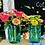 Thumbnail: Fresh cut zinnia arrangement in mason jar