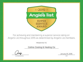The Great Reviews Are So Much Appreciated! We are offering a FREE Angie's List Membership!