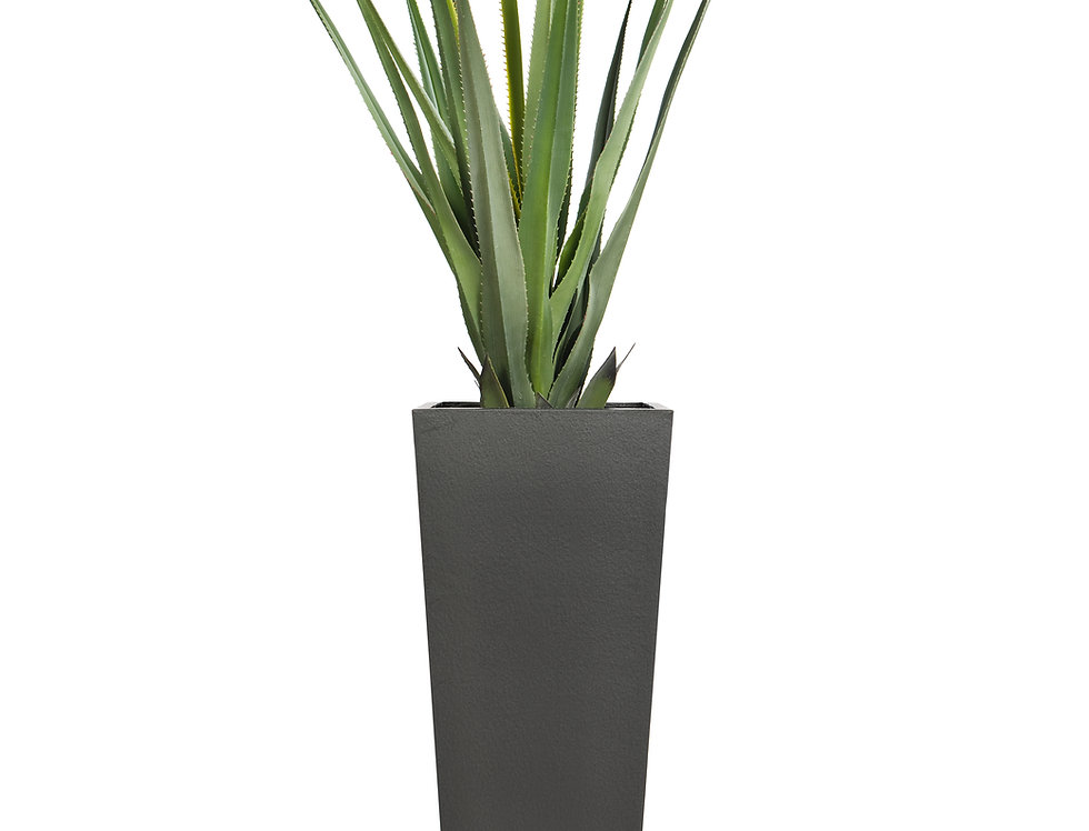 Artificial Pandanus with Geo Tapered Square Planter