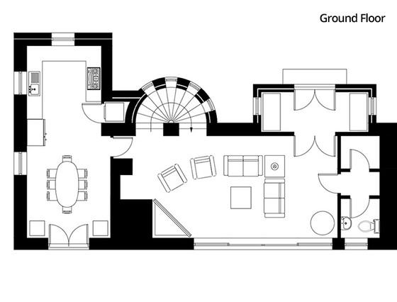 La Grange - Ground Floor Plan