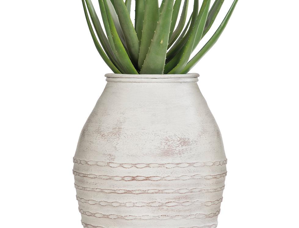 Artificial Aloe Plant with Mediterranean 1 Planter