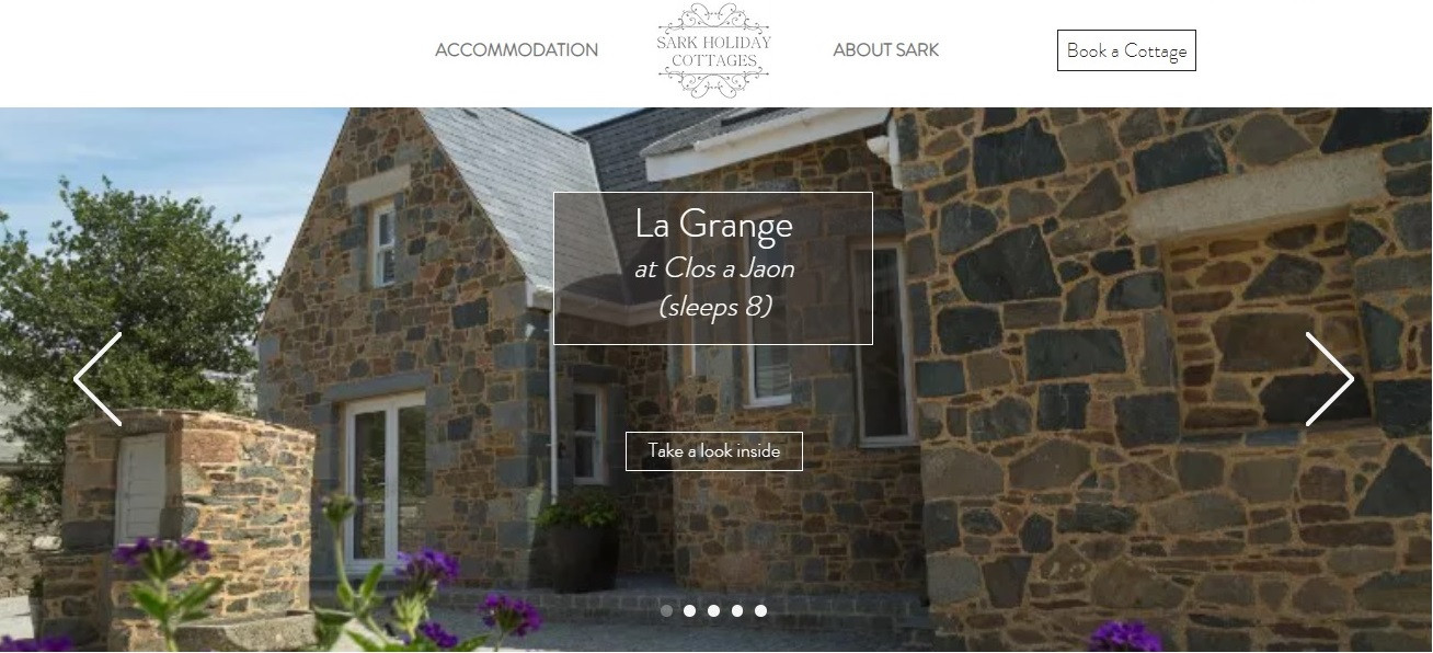 Sark Holiday Cottages - Homepage