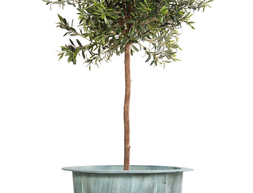 Artificial Olive Tree with Norman Planter