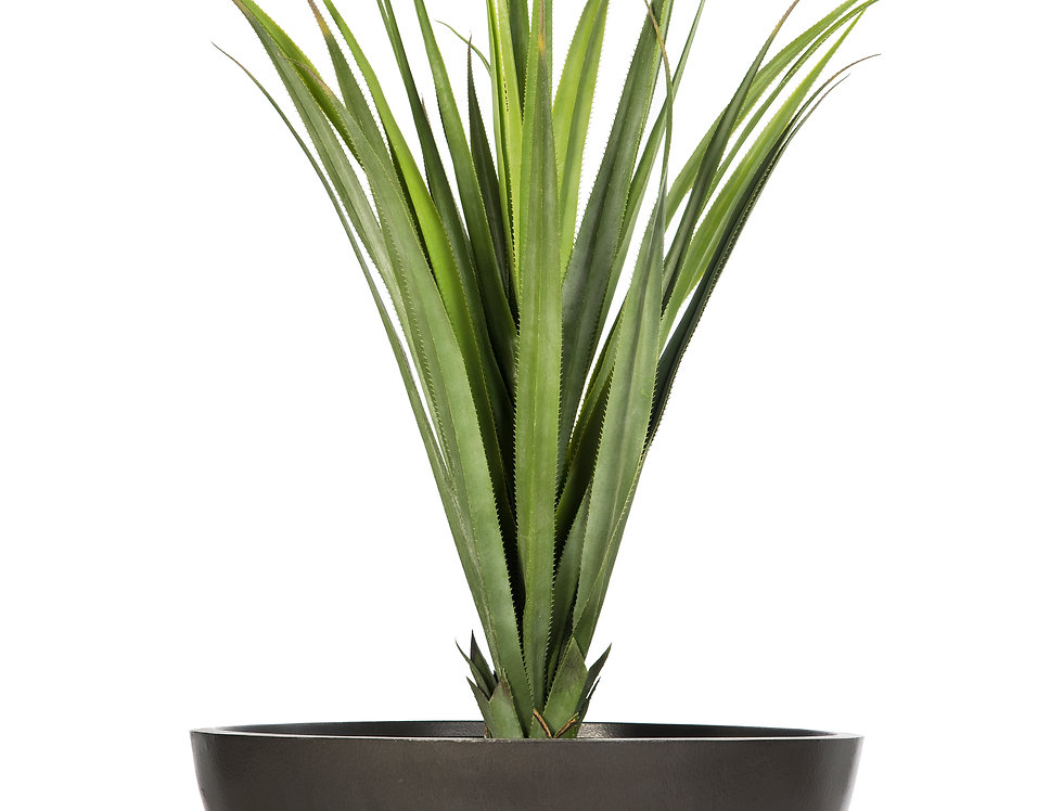 Artificial Pandanus with Bowl Planter