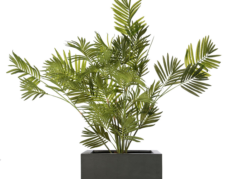 Artificial Kentia Palm with Geo Cube Planter