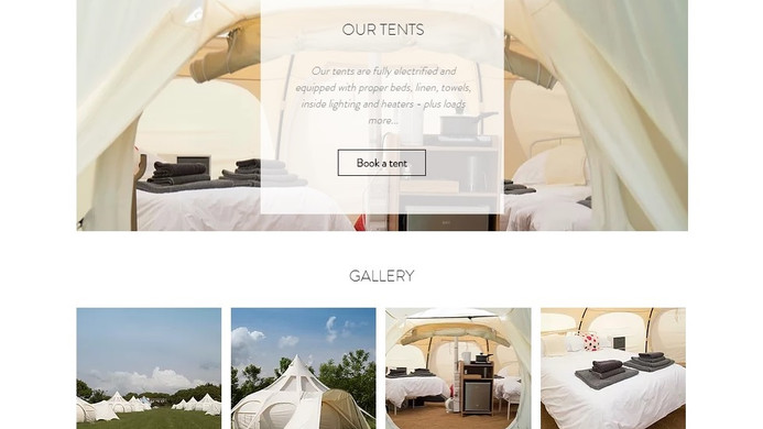 Sark Camping Holidays - Homepage - Extract