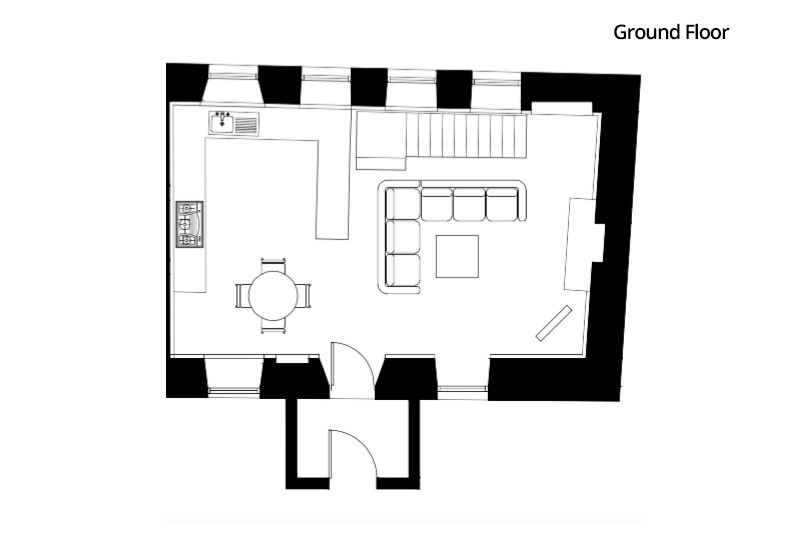Le Petit - Ground Floor Plan