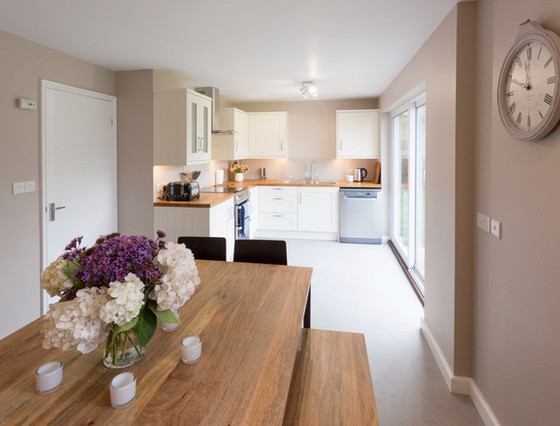 Le Friquet - Kitchen and Dining Room