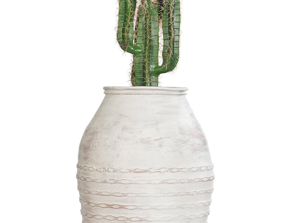 Artificial Cactus Finger with Mediterranean 1 Planter