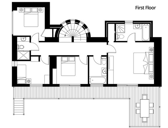 La Grange - First Floor Plan