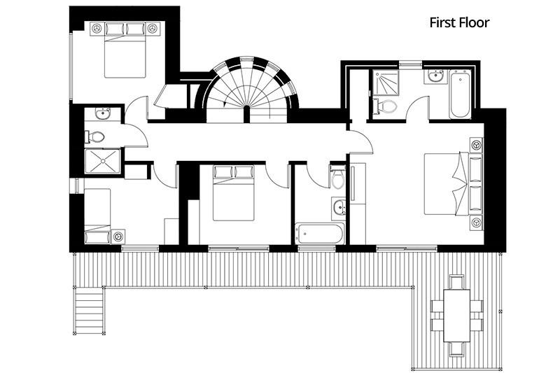 La Grange - First Floor Plan