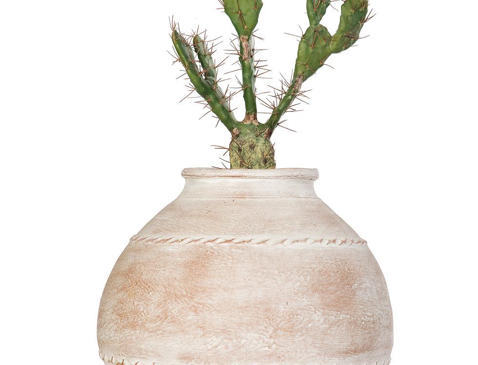 Artificial Cactus with Mediterranean 5 Planter
