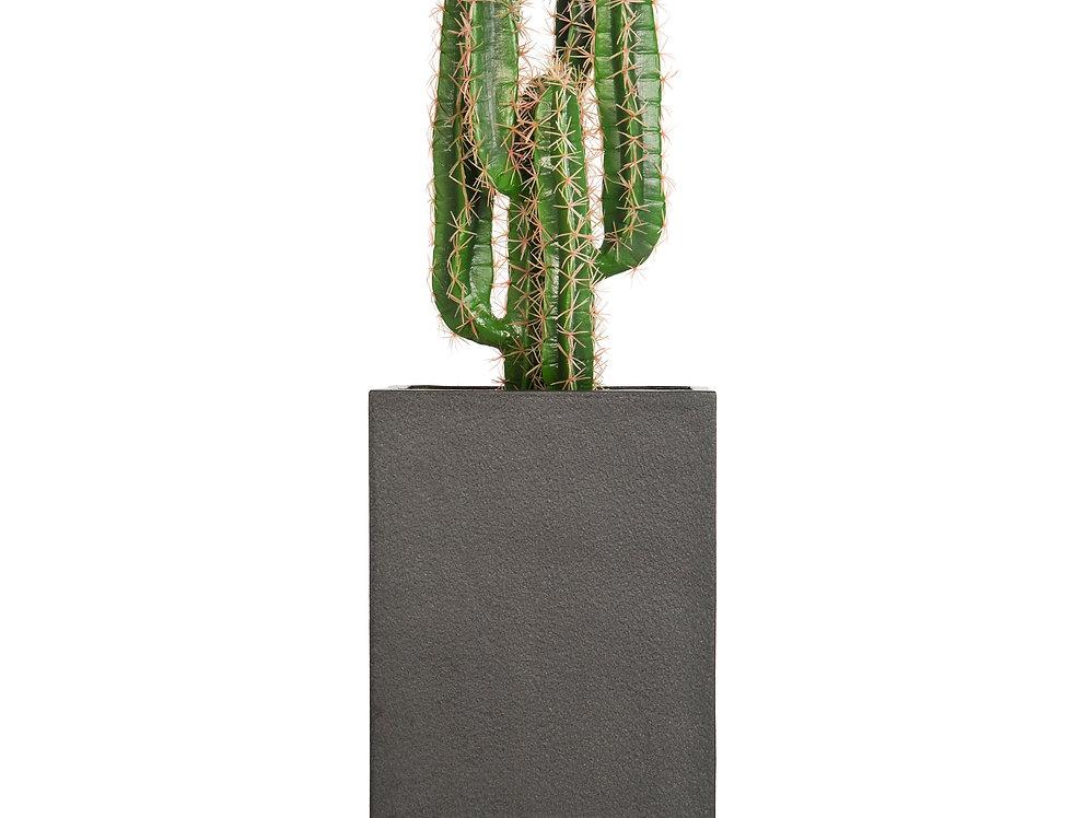 Artificial Cactus Finger with Geo Square Planter
