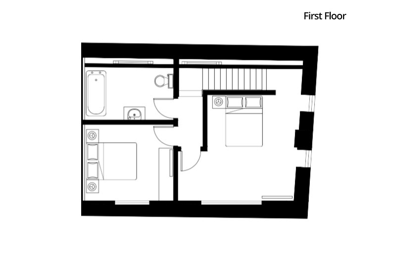 Le Petit - First Floor Plan