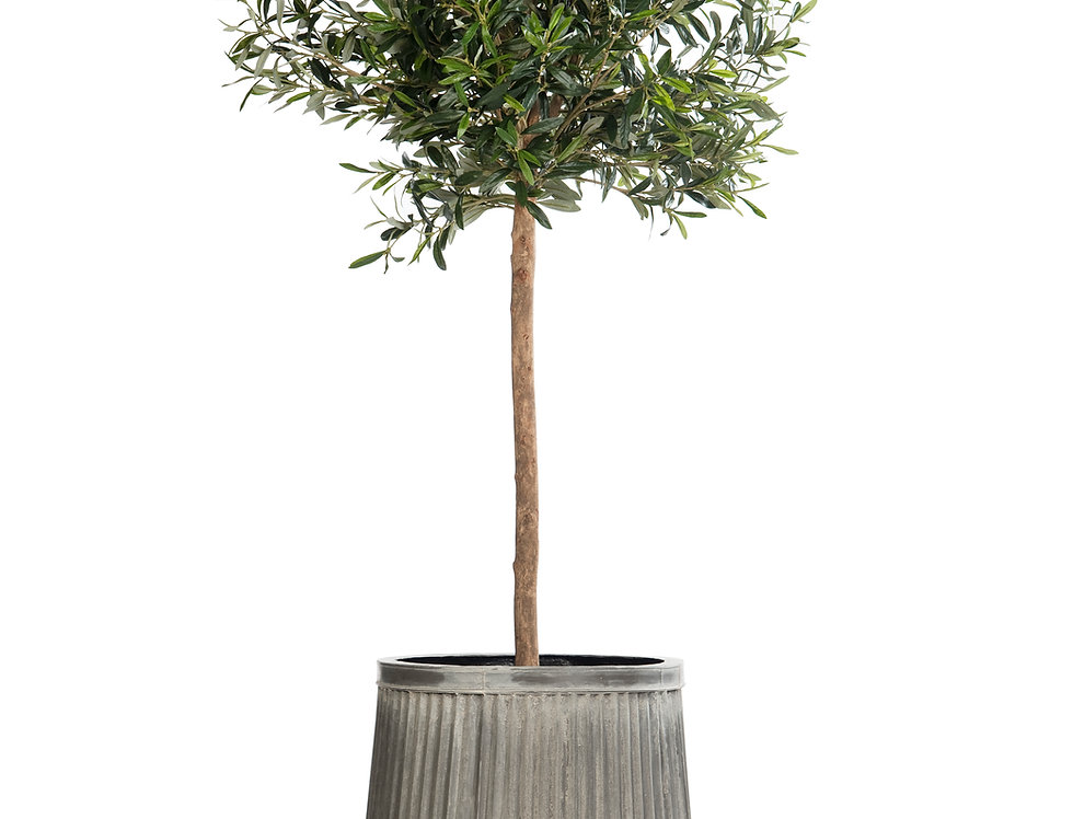 Artificial Olive Tree with Dolly Planter