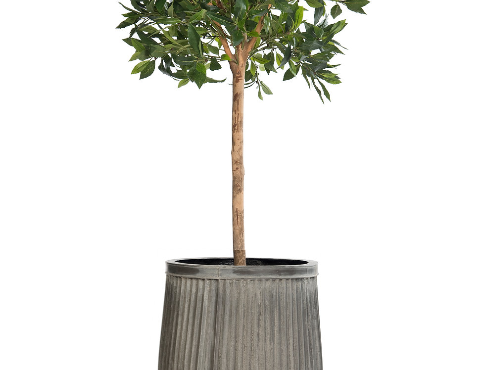 Artificial Bay Tree with Dolly Planter