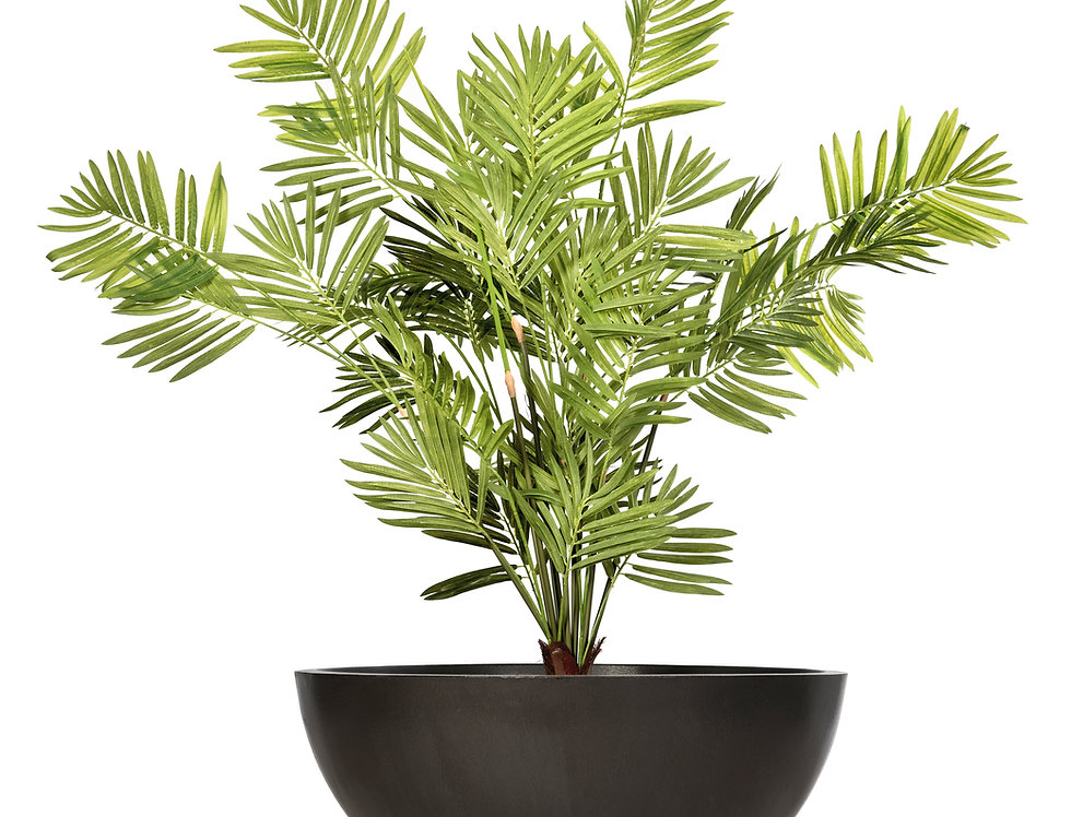 Artificial Kentia Palm with Bowl Planter