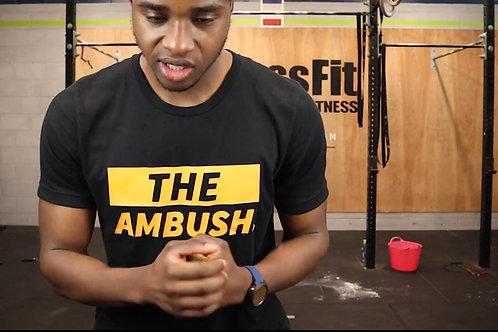 The Ambush Black Tee