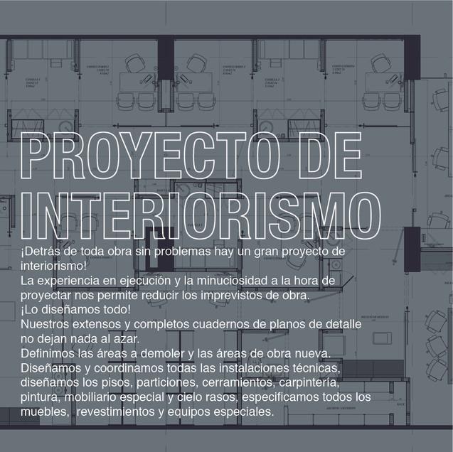 Proyecto de Interiorismo