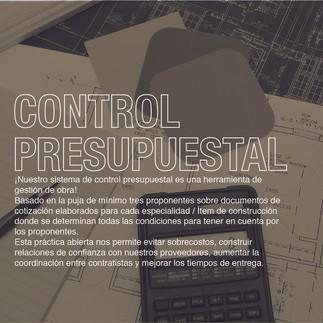 CONTROL PRES