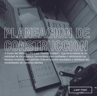 Planeacion de Construccion