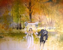 October Wedding Painting