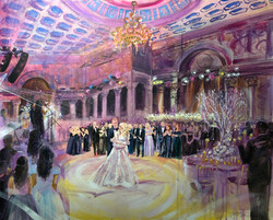 Cipriani Wall Street Finished Painting