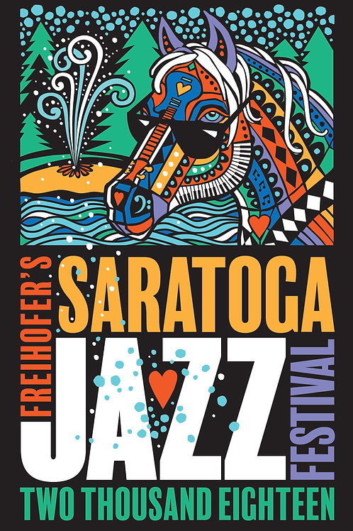 Freihofer's Saratoga Jazzfest 2018 Post Cards 10-pack