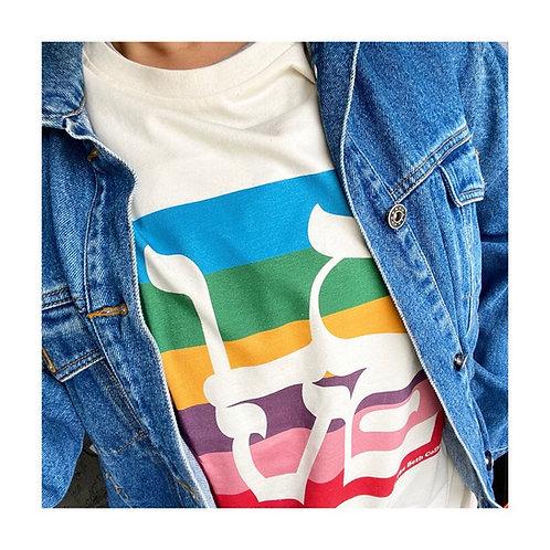 T-Shirt Love New-York Rainbow