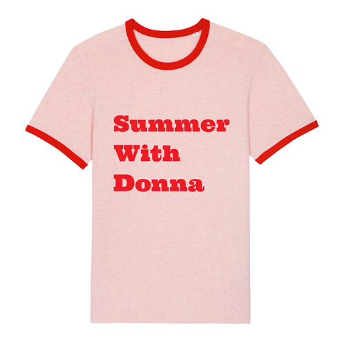 T-Shirt Summer With Donna Velours