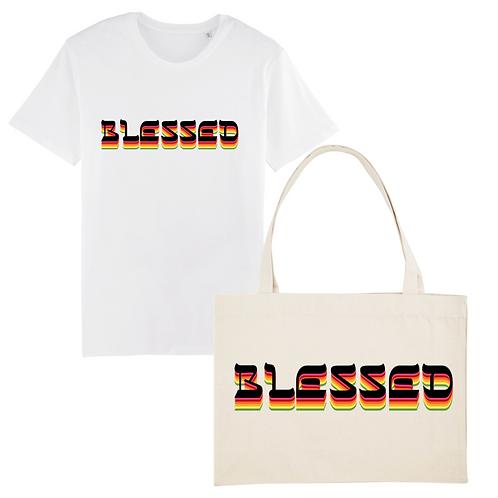 Coffret T-Shirt + Cabas Blessed