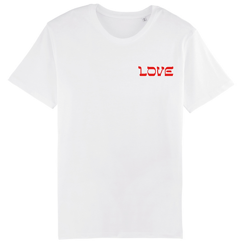 T-Shirt LOVE Brodé Coeur