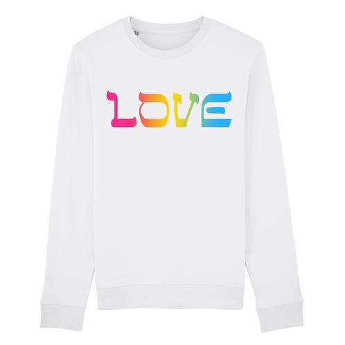 Sweatshirt Love Rainbow