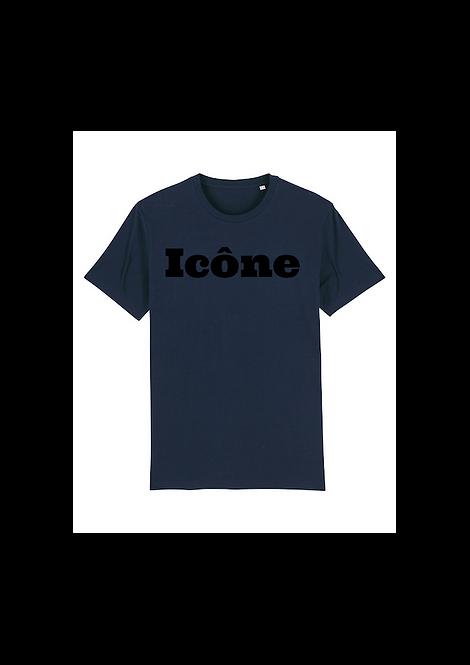 T-Shirt Icône Bleu Marine