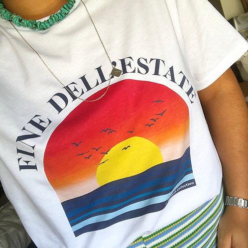T-shirt Fine dell'Estate